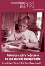 Tapa llibre &quot;Reflexions sobre l'educaci en una societat coresponsable&quot;